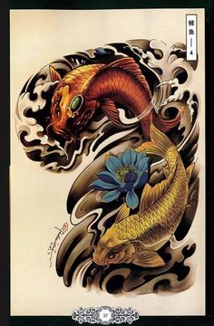 Getting The Best Dragon Tattoos – Japanese Dragon Tattoo Meanings Koi Dragon Tattoo, Carp Tattoo, Dragon Tattoos, Koi Tattoo Design, Japanese Koi Fish Tattoo, Japanese Tattoo Designs, Body Art Tattoos, Cool Tattoos, Koi Tattoo Sleeve
