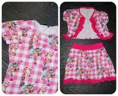 Van saaaai naar schattig in 2 uurtjes. Tuto hoe je oude saaie jurkjes omtovert in nieuwe outfit! door Mama Mizzy