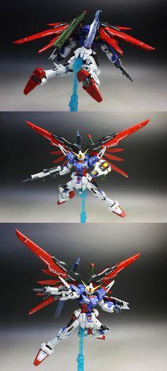 GUNDAM GUY: RG 1/144 Destiny Gundam - Painted Build by zgmfxg