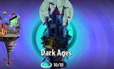 Llega Otra Actualización de Dark Ages de Plants vs Zombies 2 para iPad y iPhone