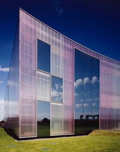 Centro de Danza Laban en Londres//Herzog & de Meuron - Rodeca GmbH Polycarbonate
