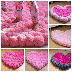 Pink heart is just perfect as a girl room rug. Small one - baby, middle - real princess,a nd a bigger one - teenager. Why? Read following... Do you live in a house with a real Princess? A Princess who loves pink color? Pink clothes, pink decorations... This pink heart shaped rug will be for her a dream coming true! Put it in the center of the room - it will play the main role in this place. Put it near the bed - it will be the best experience for her feet when she wakes up. Its fluffy…