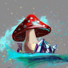 Еееее первая работа на графическом планшете😸  Вот такой волшебный грибочек п͏͏о͏͏л͏͏у͏͏ч͏͏и͏͏л͏͏с͏͏я͏͏🍄🔮  Тут я просто пыталась понять, как пользоваться гп, изучала разные кисти и тд.  .  #рисуюкаждыйдень #скетч #художник  #рисуюсейчас #art #paint #draw #artist #art_we_inspire #arts_help  #art_public #рисунок #графика #illustration #графическийдизайн #графическийпланшет #arts_gallery #гп #зарисовка #artsourse #art_stupenka #illustratenow #грибочек Art Public, Digital Art, Nice, Pictures, Painting, Photos, Photo Illustration, Painting Art, Paintings