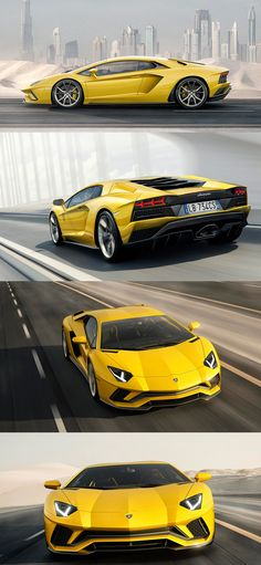 The Lamborghini Huracan was debuted at the 2014 Geneva Motor Show and went into production in the same year. The car Lamborghini's replacement to the Gallardo. Lamborghini Aventador, Lamborghini Replica, Ferrari, Exotic Sports Cars, Cool Sports Cars, Sport Cars, Sport Bikes, Super Fast Cars, Super Car