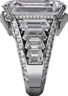 Cartier Magicien High Jewelry Collection Bracelet of white gold, rock crystal, diamonds (=)