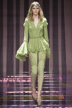 Versace Couture Fall 2015 Model: Julia Nobis