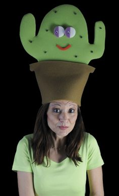 Gorro gomaespuma: Cactus
