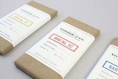 Unique Packaging Design on the Internet, Yonder  Co. Chocolate Shop #packaging #packagingdesign #design