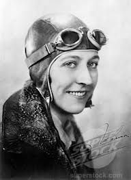 Amy Johnson was the first female pilot to fly alone from Britain to Australia…