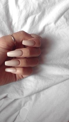 Image de nails, Nude, and beauty