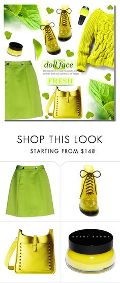 """""""🎀 #516 Bright & Happy"""" by wonderful-paradisaical ❤ liked on Polyvore featuring Moschino Cheap & Chic, Furla, Rebecca Minkoff, L.A. Colors and Bobbi Brown Cosmetics"""