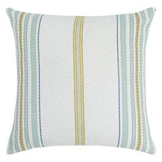 Clark Cushion 50x50cm  Blue Stripe