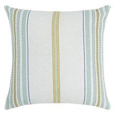 Clark Cushion 50x50cm  Blue Stripe