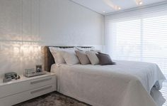 white and off white room - quarto - room by S.C.A. #decor