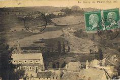 Fondial, village de la paroisse puis commune de #Peyrusse (#Cantal), patronymes : Barberousse, Reynaud. #généalogie #challengeAZ #cartepostale #oldpostcard #cartepostaleancienne