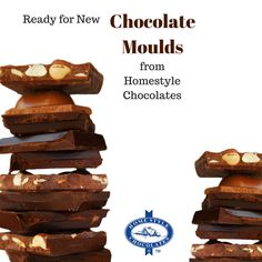 Now 2017 is here, it's time to order some new moulds (or replace old ones! Chocolate Molds, House Styles, Desserts, Food, Tailgate Desserts, Deserts, Meals, Dessert, Yemek