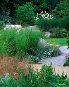 combination of materials and planting in a beautiful garden by Andy Sturgeon