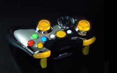 """This is our """"Special Edition Crystal Yellow"""" Modded Controller. All modes are adjustable rapid fire meaning you can choose any speed from 1 to 30 shots per second, depending on specific game restrictions. Since you have 6 classes to choose from you can set each class up to match all of your custom classes in your favorite COD game. You will never have to adjust the controller again! All RapidModz.com controllers are 100% undetectable in all Games."""