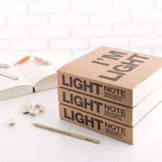 I'm Light Notebook <-- Want this book so bad! All the notes/diagrams it could fit!