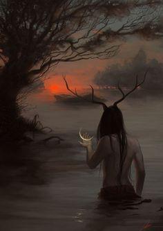 #dark #art #halloween #painting