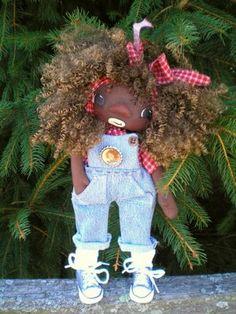 Julie Marcotte's beautiful rag dolls