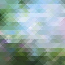 Wall mural - Abstract Triangular Pattern 2
