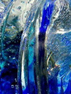 "Lauraine Barraud ""Glass cascade"" 67.00 cm x 50.00 cm (26.38"" x 19.69"") TIRAGE PAPIER PHOTO CHF 400.00  laurainebarraud Chf, Waves, Glass, Outdoor, Artist, Photography, Outdoors, Drinkware, Corning Glass"