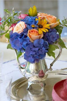 Be further inspired to use your fine silver, every day: Photo credit: Julie Mulligan Floral Lifestyle)