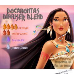 Disney Princess diffuser series. doterra #Aromatherapy