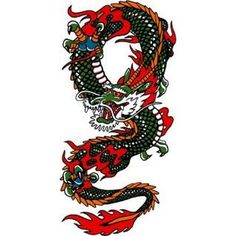 Traditional Chinese Dragon Tattoo  Here My Find Your