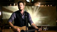 Blake Shelton - God Gave Me You (Official Video) 7 Just when I'm ready to stop...give up....hold up the white flag in defeat....YOU SAVE ME!!!!!