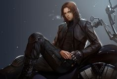 Bucky Barnes - The Winter Soldier fan art. OH MY GOSH this is sooo awesome! Love it!