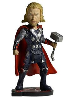 NECA Avengers Age of Ultron (Movie) - Head Knocker - Thor -- Visit the image link more details. (It is Amazon affiliate link) #fslc