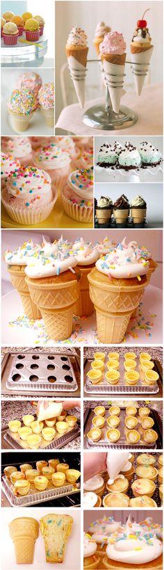 Ice Cream Cupcake