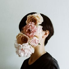"""Overgrowth"" a collaboration between photographer Parker Fitzgerald and floral designer Riley Messina."