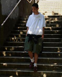 Japan Fashion, Boy Fashion, Fashion Art, Fashion Show, Mens Fashion, Asian Street Style, Japanese Street Fashion, Tomboy Outfits, Everyday Outfits