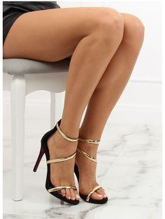 Sandals on a stiletto are a perfect proposition for many occasions. They attract the eye and arouse the well-deserved delight. In them the legs look really attractive. Types Of Heels, Artificial Leather, Leather Heels, Women's Shoes Sandals, Feminine, Silhouette, Sexy Heels, High Heels, Elegant