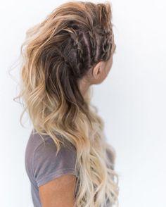 "Bombshell Extension Co. on Instagram: ""Blonde Bombshell in Braids || @burnitbeauty Hair by @hairandmakeupbysteph using @bombshellextensions PC: @chantelmarie"""