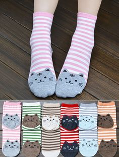 Cosy Cat Socks - 50% OFF TODAY