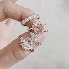 Natalie Marie Jewellery Stack Engagement Rings