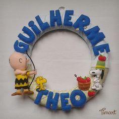Timart: Guirlanda Charlie Brown e Snoopy - Arqueiro