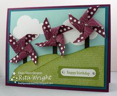 Rita's Creations: FMS69: Pinwheels!