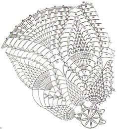 Crochet Art: Crochet Lace doily Pattern - Beautiful