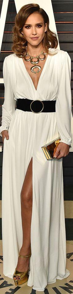 Jessica Alba veste Roberto Cavalli - Oscar Party 2016