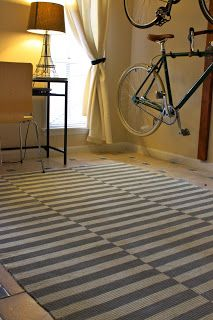AtoZchronicles: Furnishing On A Budget: My DIY Painted Rug