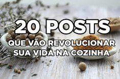 20 posts do BuzzFeed que vão revolucionar sua vida na cozinha