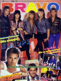 THE magazine in germany for very young teens. and yes. it was as bad as it looks.