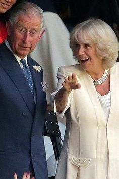 Britain's Prince Charles and Camilla the Duchess of Cornwall