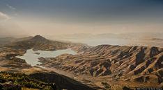 Beautiful nature Iraq. El lago Dukan, el más grande del Kurdistán iraquí (Mark Chivers/Getty)