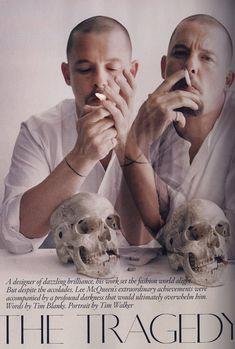 Alexander McQueen - Portrait by Tim Walker